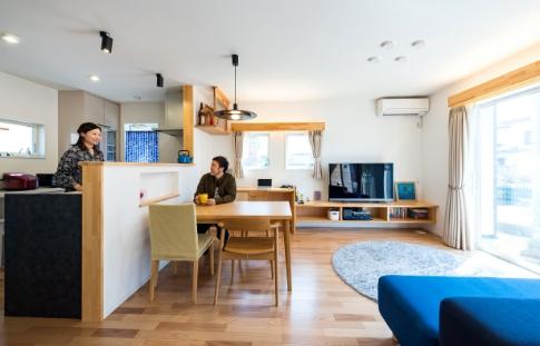 心地よい空間のための、ていねいな家づくりを徹底すること。